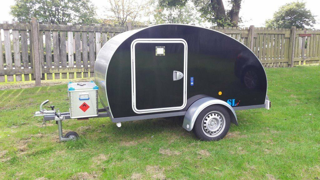 Readvertised  Teardrop Trailer With Electric Hook Up And