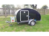 Teardrop Trailer with Electric Hook Up and seperate Generator, lots more extras