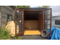 Horsebox for sale, not on wheels, recently fitted interior