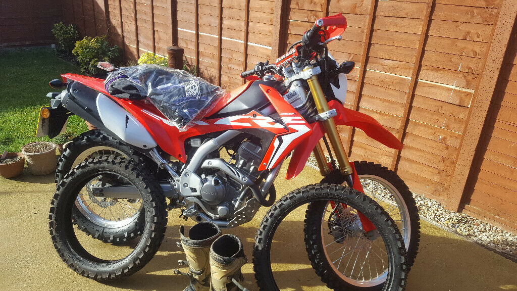 Honda Crf250l With Professional Lowering Kit Great For Shorter Rider