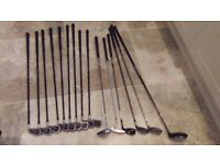 Wilson Graphite Carbon Golf Clubs + Putters + Drivers + Golf Bag