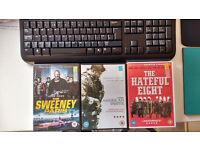 Hateful Eight ; American Sniper ; Sweeney Paris ; Slow West BULK BUY & SAVE
