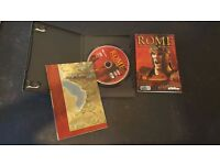 Rome Total War - PC - Special Edition featuring Map