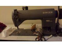 Industrial sewing machine Singer 660
