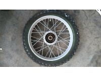 Front wheel for pit bike