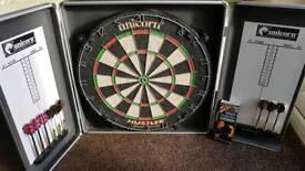 Unicorn Dart Board with Darts