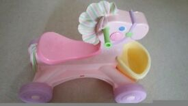 Fisher price ride on pony / horse