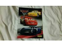 Disney lightning mcqueen car sticker album