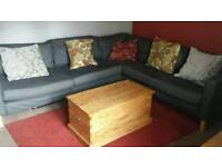 Large ikea sofa, dark grey
