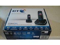 BT Aura Twin Telephones