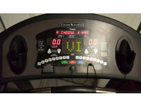 Vision Fitness T9450HRT Folding Treadmill (premier Console) With Heart Monitor