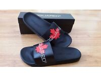 Premium Quality Moschino And Dsquared Slides/ Slippers. Any Two Pairs £60. Get A Bargain! Sizes 6-11