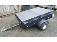 Car trailer (camping)