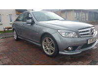 MERCEDES-BENZ C200 BLUE-CY SPORT CDI AUTOMATIC,75000mls,MOT TILL 1/3/2019,2 PREVIOUS KEEPERS, MAY/PX