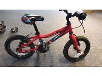 """Saracen 14"""" wheel ace kids bike"""