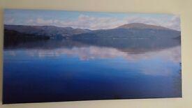 Large landscape canvas