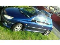 Peugeout 206 project car for swap