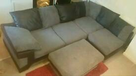 Luxurious 4 seater corner sofa with chaise