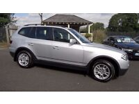 2007 BMW X3 2.0 D SE Manual Gearbox, MOT until March 2017, really Clean