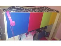 Childrens Cabin bed and wardrobe