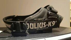 Two Julius K9 harnesses