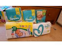 Size 2 papers nappies unopened