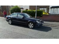 Mercedes E320 cdi automatic diesel sat navigation, not bmw , audi or vw