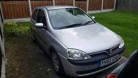 Vauxhall corsa 2002 1.2 sxi 3 door