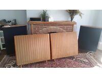 QUAD ESL 57 Electrostatic Loudspeakers.