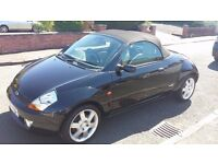 2004 FORD STREET KA 1.6 LUXURY CONVERTIBLE