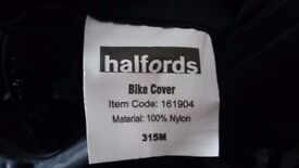 New halfords bike cover