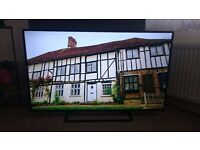 Panasonic TX-50A400B 50-inch Widescreen 1080p Full HD LED TV + Freeview HD