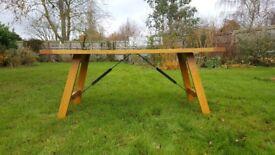 Habitat Solid Oak Dining Room Table