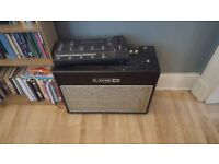 Line 6 Flextone 3 guitar amp and FBV shortboard