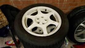 Subaru winter wheels and tyres x 4