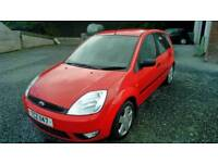 03 Ford FIESTA 5 DOOR Red Clean car Can be Seen anytime