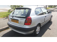 TOYOTA COROLLA 1.3 ***EXCELLENT CLEAN CONDITION***6 MONTHS M.O.T.***£595ono***