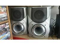 2 speakers aiva 80W