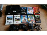 Sega Megarive 16bit 9 games all cables (tested and working)