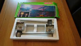 Subbuteo 61222 floodlights boxed with insert (spares repairs)