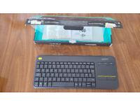 Logitech K400 plus Bluetooth keyboard mouse K400+