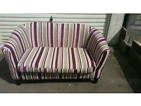 2 Seater sofa and 1 arm chair