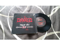 The damned friday the 13th vintage vinyl record