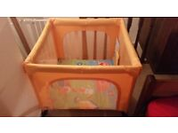 Chicco Open Country Play Pen - Orange Fantastic Condition