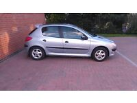 Peugeot 206 2.0 HDI. Pan Roof. Mint condition. Extremly tidy. FULL SERVICE HISTORY