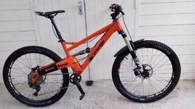 Orange five 5 Pro 650b Medium Great Spec Bike