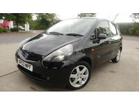 HONDA JAZZ AUTOMATIC/1.4//LOW MILEAGE///FRESH 1 YEAR MOT// £1650