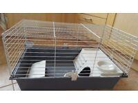 Indoor rabbit/ guinea pig hutch.