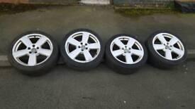 Audi s line alloy wheels
