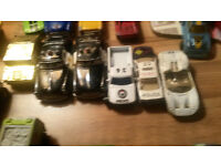 COLLECTION OF TOY CARS FROM A CHILDS COLLECTION
